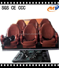 6 Dof 2/4/6/8/9/12 seats Electric 7D theater supplier 5D 9D 12D simulator cinema motion platform 7D Cinema/Theater/Movie