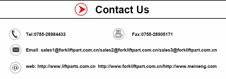 Low Price Forklift Parts Electrical Parts Repair Kit 1153605136K