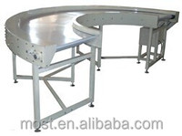 D1005 High quality automatic bend conveyor for chocolate factory