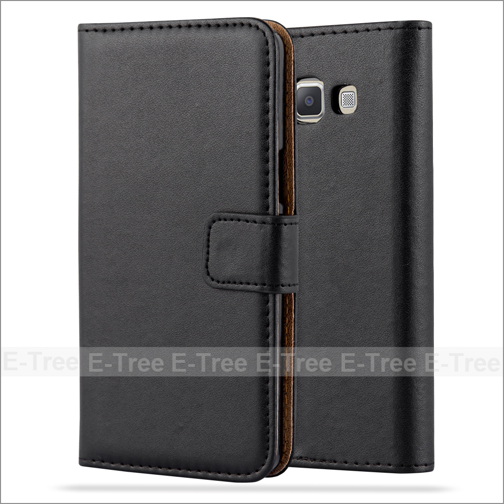 Luxury Leather Mobile Phone Case Card Holder Cover Stand Case for Samsung Galaxy A3 2015