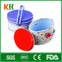 Custom High Grade Tin Oval Packaging