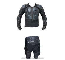 Motorcycle protectors body armour motocross jersey and t-pants motocross racing suit