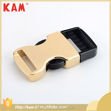 China manufacturer quality quick release metal strap bag buckle