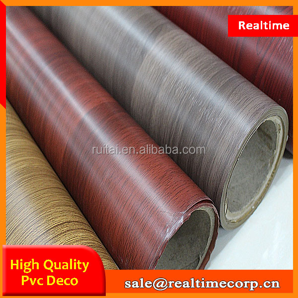 China manufactue pvc thermo foil for mdf