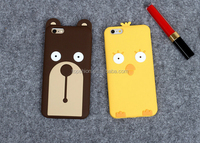 bulk buy from China for iPhone 6 shell case 3d silicone cute bear case