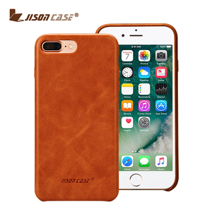 2018 China Luxury Genuine Leather Cover Phone Case for iPhone 7/8 7Plus and 8 Plus Cell Phone Case Back Cover