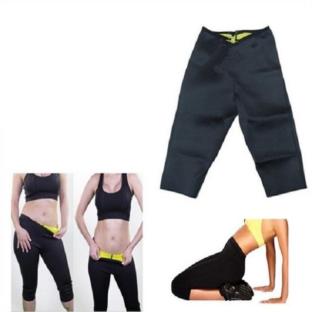 Hot Selling Neoprene Body Shaper Slimming Pants Burning Fat Unisex Sport Pants