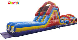 68-FOOT OBSTACLE COURSE kids giant inflatable obstacle for adult