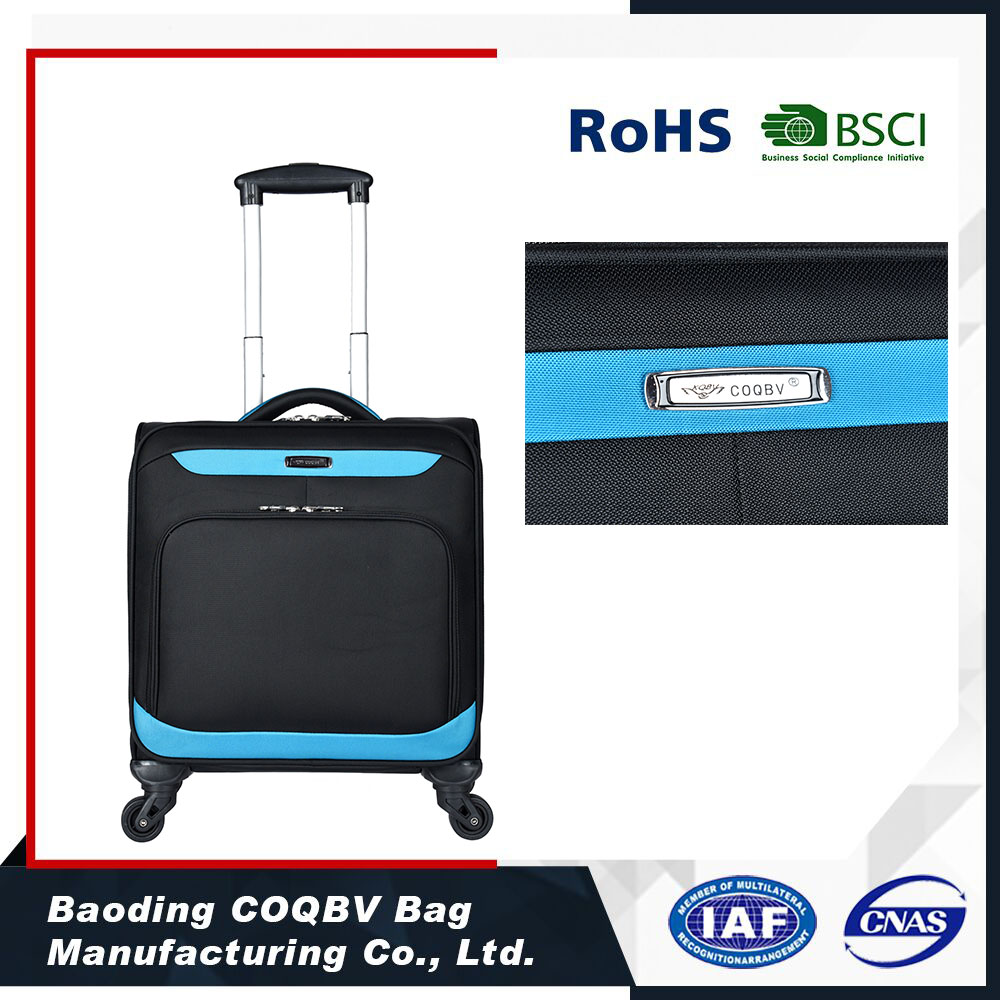 New Design small trolley bag luggage Boarding bag with high quality
