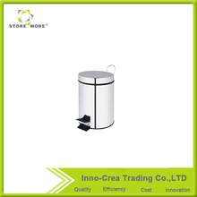 Hot Sale Foot Pedal Stainless Steel Waste Bin