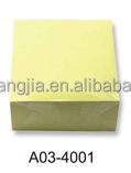 customized paper block note cube memo cube