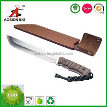 Cool shape outdoor knife apply to protection perfectly
