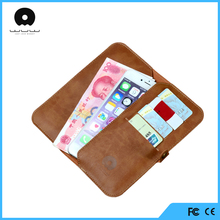 PU black wallet leather stand case for ZTE Blade L2 mobile phone cover