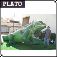 15ft inflatable lizard/inflatable iguana for advertising,big events