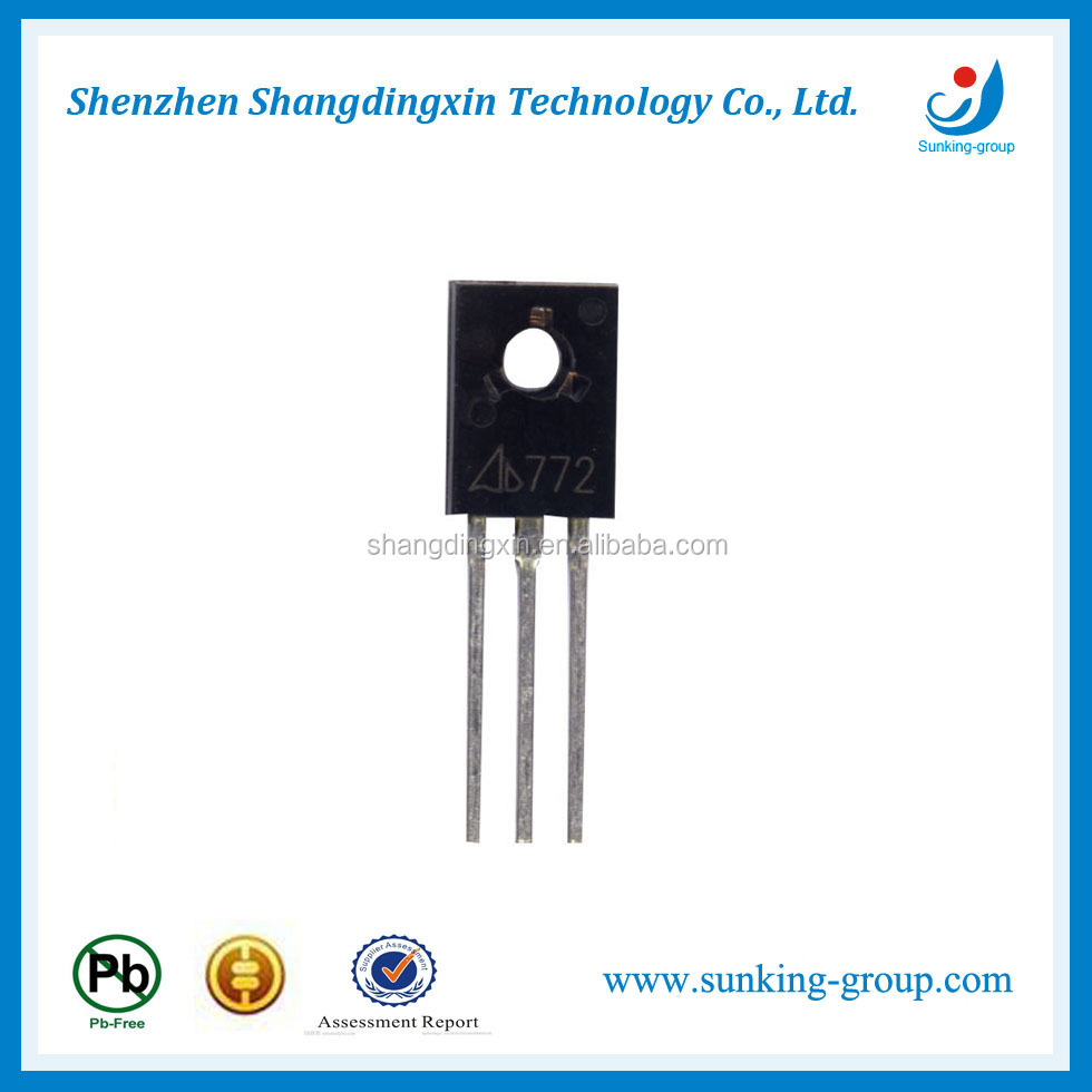 Hot sale Electronic transistors 13001 TO-92