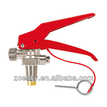 CO2 fire extinguisher cylinder valve