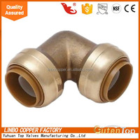 LB-GutenTop Lead free brass Equal tee fittings, pluming push fit fitting/Female /Equal/Copper/Forged/Union/Welding