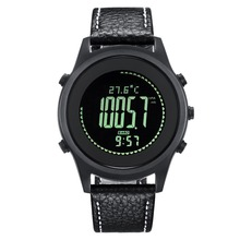Spovan stainless steel back water resistant sport watch relogio masculino