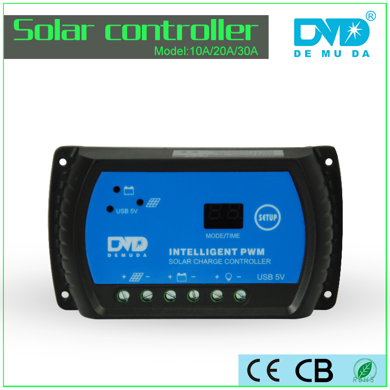 Lowest Price 12V 24V Auto PWM 30A Solar Charge Controller 10A 20A USB Port