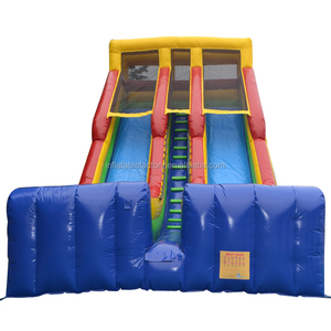commercial grade inflatable dry slide for kids and adults