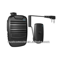 Protable FM Wireless Bluetooth Two Way Radio Speaker Microphones for GP68 P060 CP125 HT600