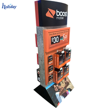 Mobile Phone Store Dedicated Display Stand For Mobile Accessories