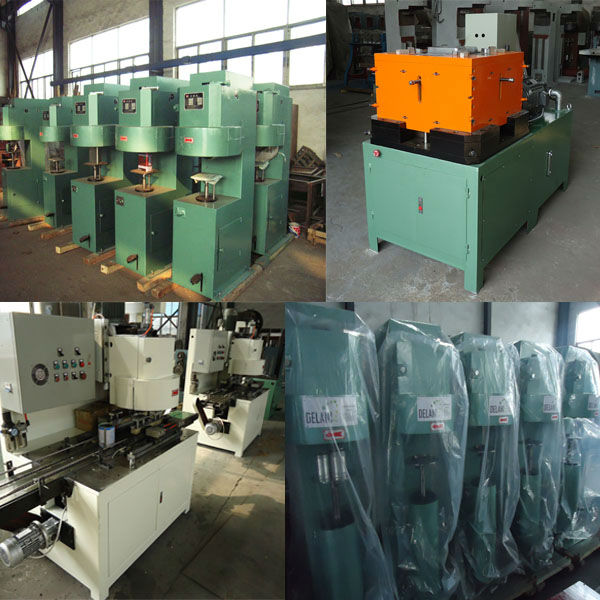 rectangular oil can making machine production line