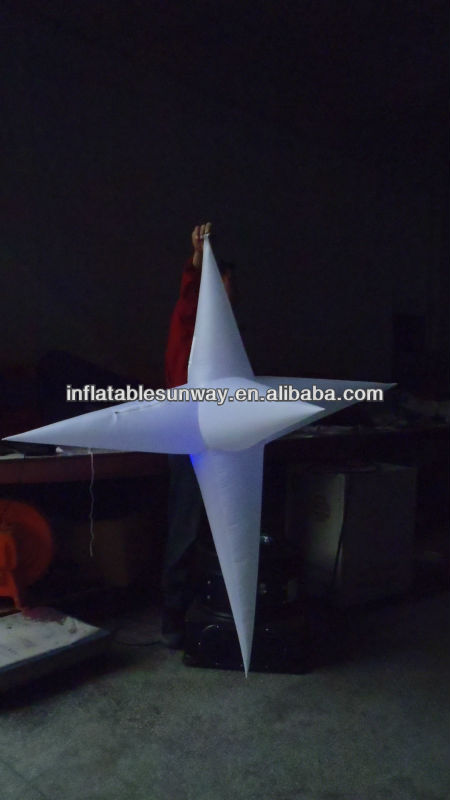 hot sale LED inflatable stars