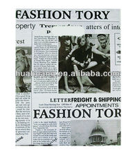 newspaper printing carrier bag cheap printed shopping bags