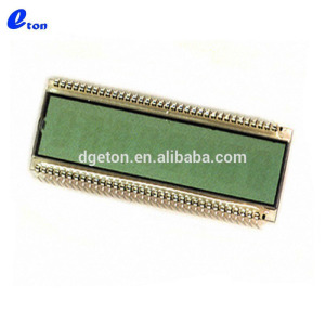 "8 DIGIT .5"" REFLECTIVE 7 segment monochrome alphanumeric lcd display"