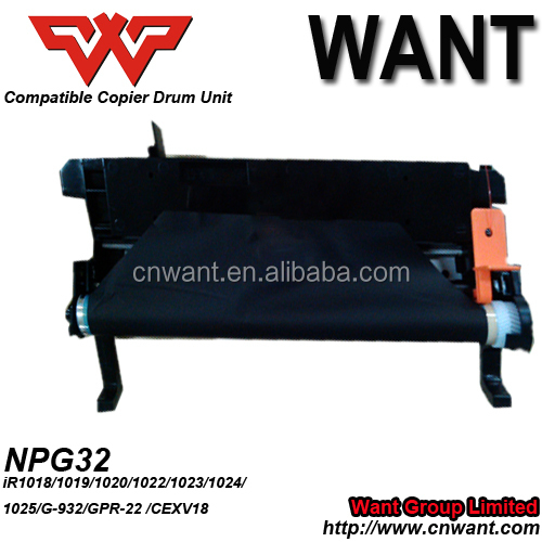 China compatible Drum Unit NPG32 for Canon iR1018/1019/1020/1022/1023/1024/1025/G-932/GPR-22/CEXV18