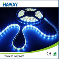 CE RoHS 2400K Warm White LED Strip Lighting Flexible Waterproof SMD3528 60 leds/M