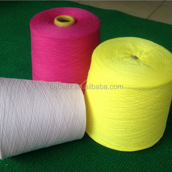100% bamboo fiber rose fiber/cotton yarn 30s