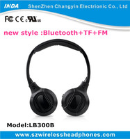 cool mobile stereo bluetooth wireless headphone