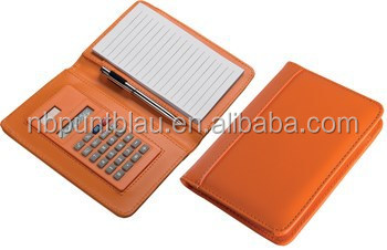 Promotional colorful calculator with notepad with high quality
