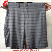 Polyester super quick dry custom belt loops shorts