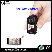 2017 new P2P IP IR night version wireless mini DVR spy mini Q7 wifi hidden camera