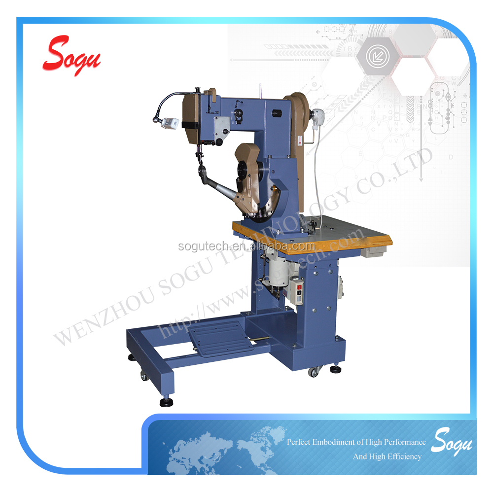 Xs0003 Seated Type Double Thread Inseam Industrial Shoe Sole Stitching Machine