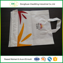 HDPE Custom design supermarket recycled colorful plastic shopping bags