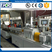 PVC Pipe Production Line Machine Plastic Twin Screw Extruder/Biodegradable plastic extruders sheet extrusion forming machine