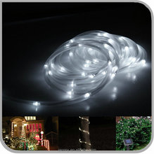 Ourdoor Solar Powered Rope Light Tube String Garden Fairy Party Waterproof Light 100LED (JL-7504)