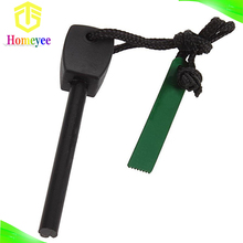Black and Green survival kit camping tool emergency quick fire starter
