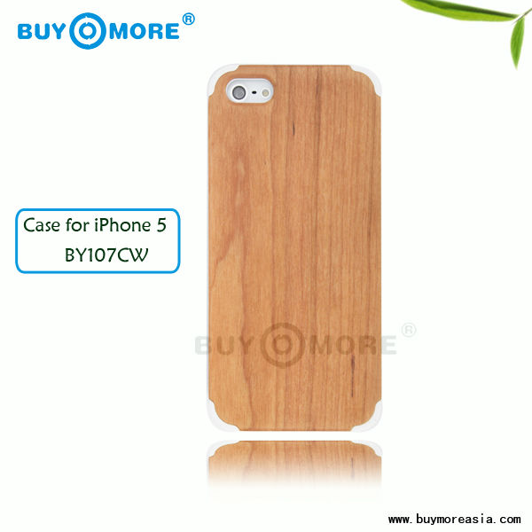 New product high quality wooden cell phone case,wood case for iphone 5