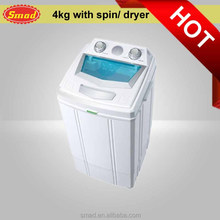 2kg/3kg baby clothes Mini portable semi automatic drum washing machine