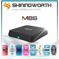 Shiningworth smart tv box M8S Amlogic S812 Quad Core Internet Android TV Box 2G/8G Set Top Box