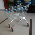 Zinc plated cheap Shopping Trolley for supermarket
