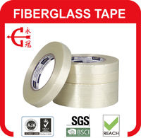 High Quality Fine Structured Fibreglass Filament Tape with Pressure Sensitive Rubber Adhesive