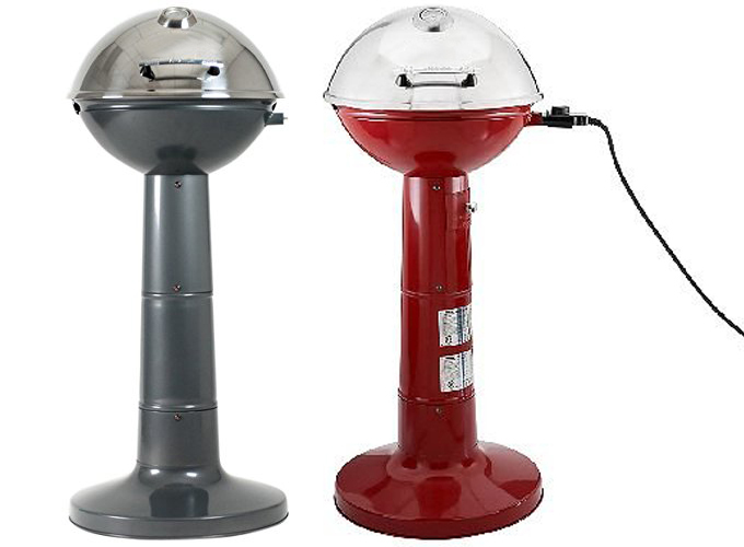 Small Electric Grills Outdoor ~ Indoor outdoor electric bbq grill free standing for