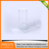 Recyclable inner diameter 70mm reasonable price plastic test tubes with cap