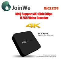 best price RK3229 hd kodi 15.2 MXQ 4K Smart Android 4.4 TV Box MXQ 4K Set Top Box in stock